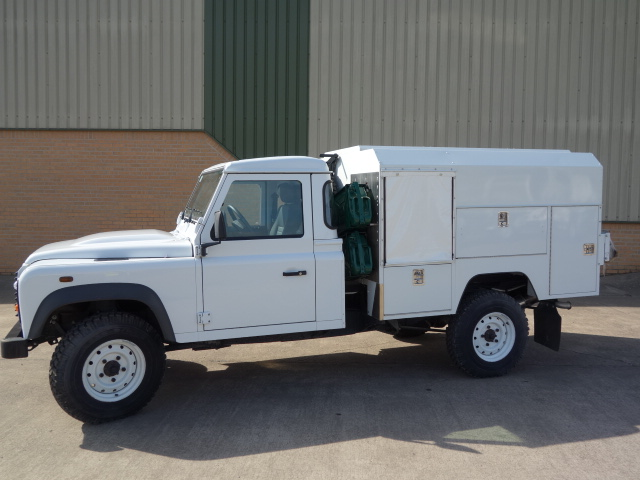 New Land Rover 130 LHD Maintenance vehicle  - ex military vehicles for sale, mod surplus