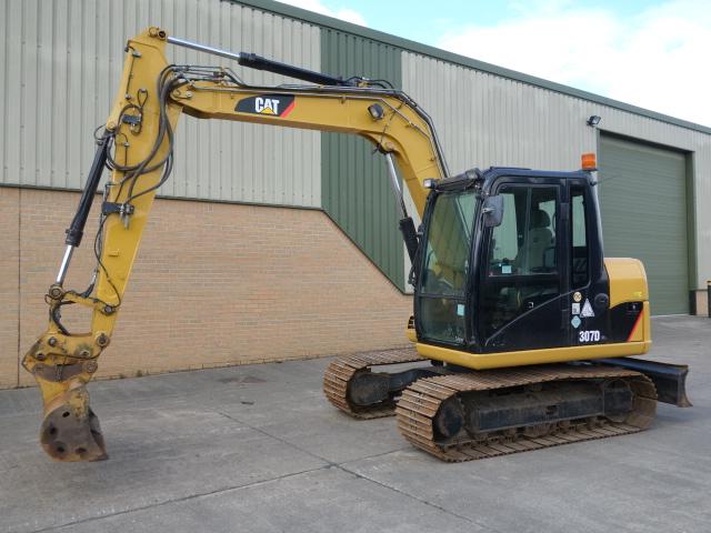 Caterpillar Tracked Excavator 307 D 2010 - ex military vehicles for sale, mod surplus
