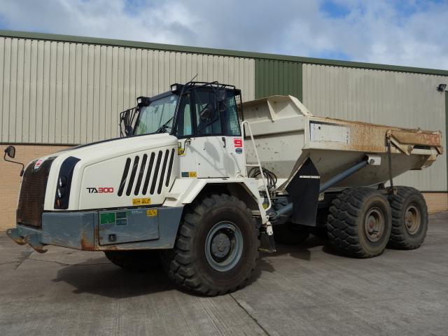 Terex TA300 Dumper 2014 - ex military vehicles for sale, mod surplus