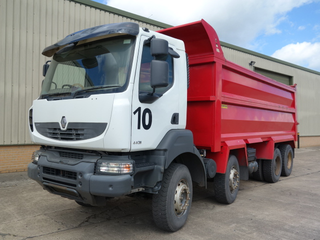 Renault Kerax 440 DXi 2012 Tippers - ex military vehicles for sale, mod surplus