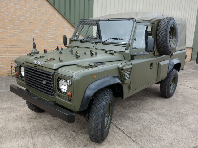 Land Rover 110 Defender Wolf Soft Top (Remus) - ex military vehicles for sale, mod surplus