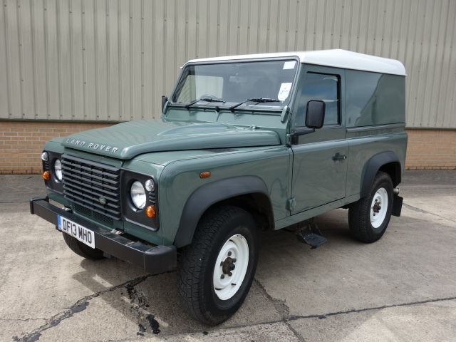 Land Rover Defender 90  Hard Top - ex military vehicles for sale, mod surplus