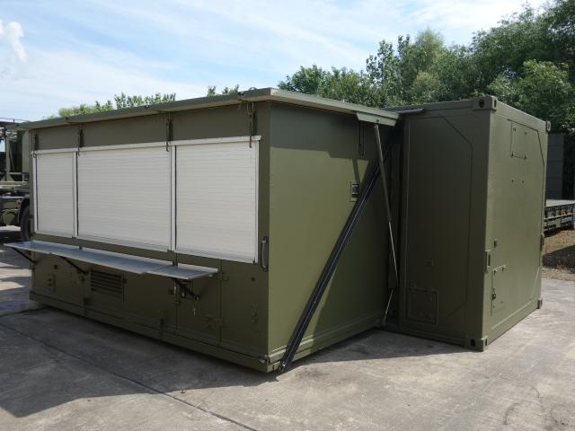 Karcher Expandable 20ft Kitchen Container  - ex military vehicles for sale, mod surplus