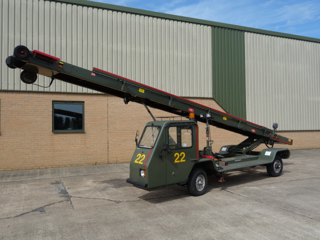 military vehicles for sale - AMSS Self Propelled 9 Metre Belt Loader