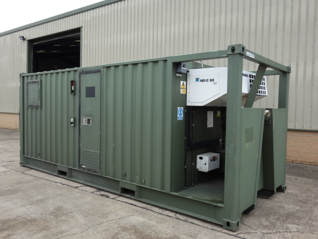 20ft DROPS Refrigerated Container - ex military vehicles for sale, mod surplus