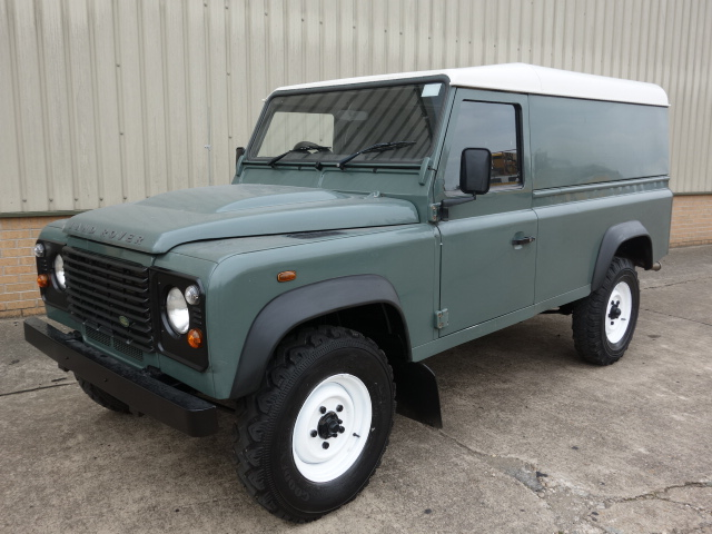 Land Rover Defender 110 TDCi Hard Top - ex military vehicles for sale, mod surplus
