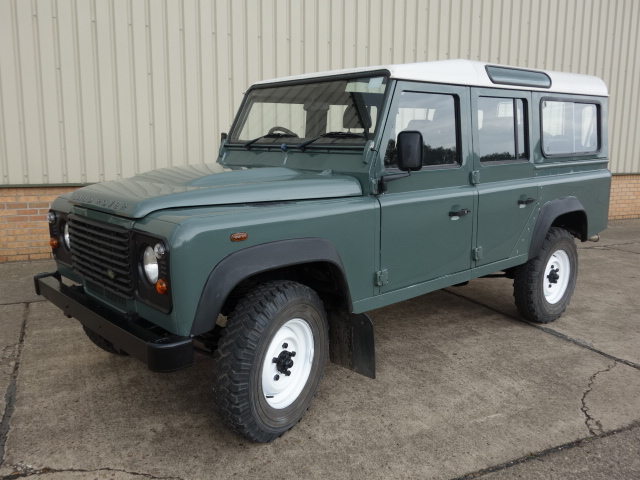 Land Rover Defender 110 TDCi Station Wagon - ex military vehicles for sale, mod surplus