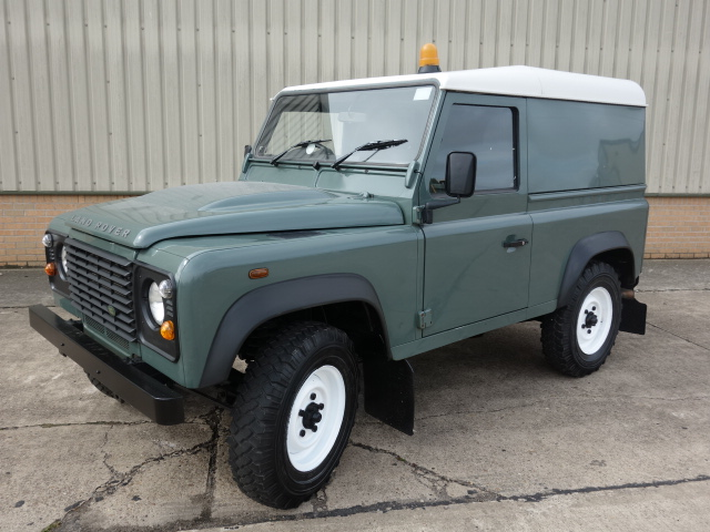Land Rover Defender 90 TDCi Hard Top - ex military vehicles for sale, mod surplus