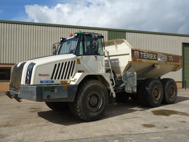 Terex TA300 Dumper 2011 - ex military vehicles for sale, mod surplus