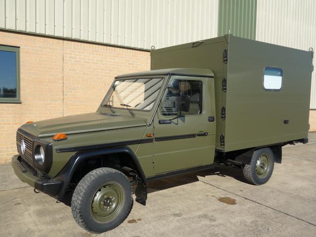 Mercedes GD250 G Wagon 4x4 Box Vehicle  - ex military vehicles for sale, mod surplus