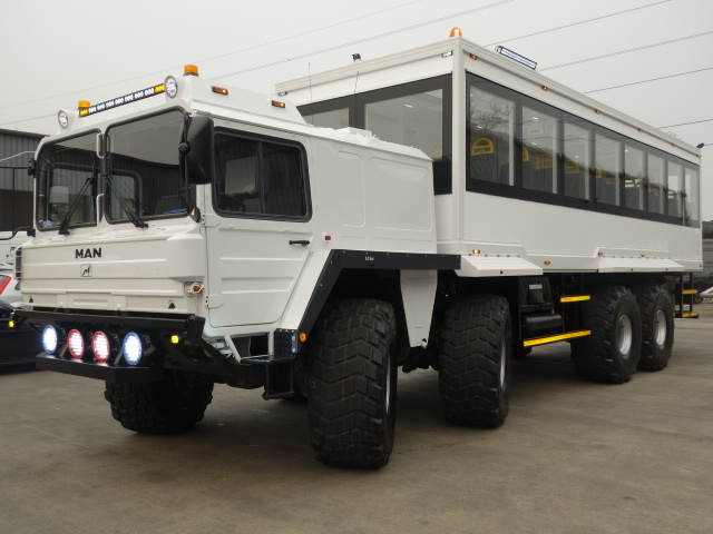 military vehicles for sale - MAN 8x8 Personnel Carrier / Tour or Safari Vehicle