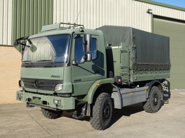 Mercedes Benz Atego 1018 4x4 Cargo - ex military vehicles for sale, mod surplus