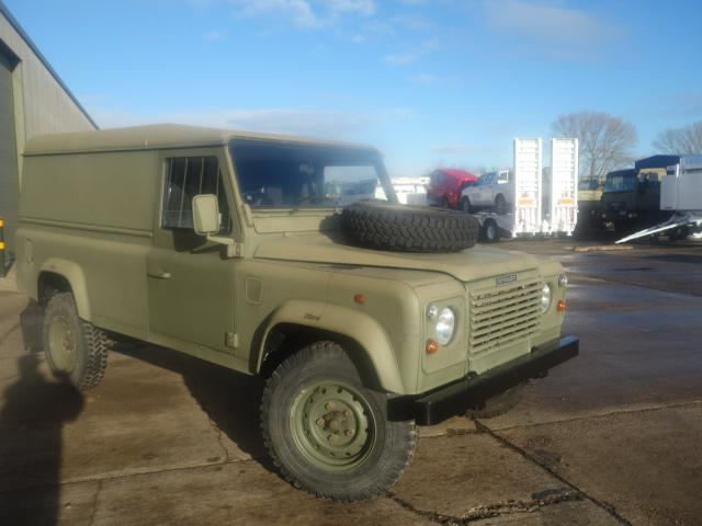MoD Surplus, ex army military vehicles for sale - Land Rover Defender 110 300Tdi