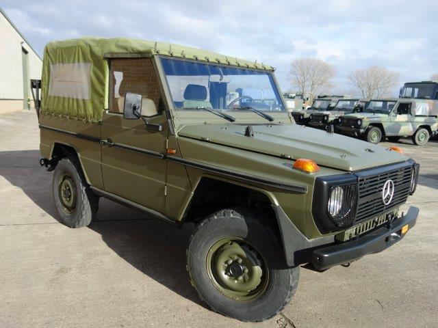 Mercedes Benz G wagon 240GD - ex military vehicles for sale, mod surplus