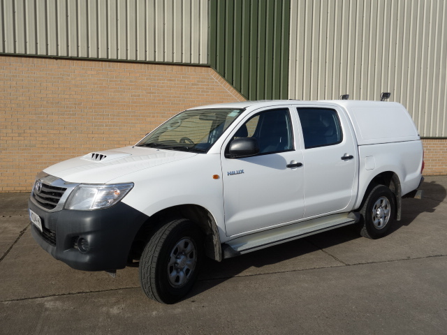 2014 Toyota Hilux 2.5D Double Cab Pickup - ex military vehicles for sale, mod surplus