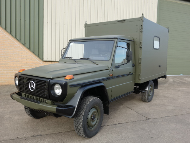 MoD Surplus, ex army military vehicles for sale - Mercedes GD250 G Wagon 4x4 Box Vehicle