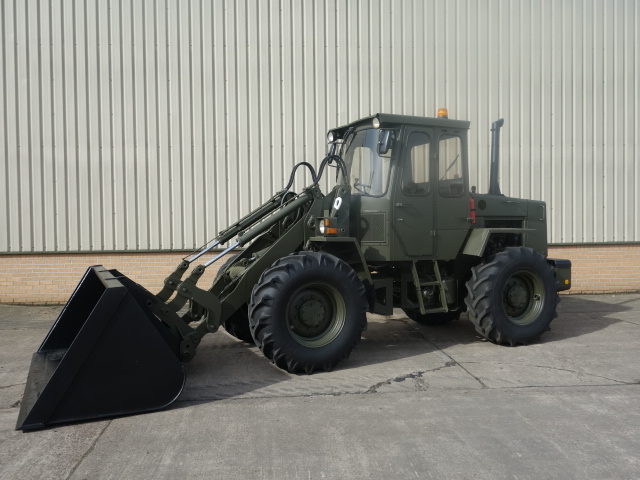 MoD Surplus, ex army military vehicles for sale - Volvo 4200 Loader