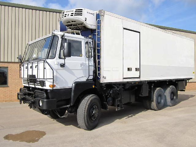 DAF2300 Refrigerator Truck - ex military vehicles for sale, mod surplus