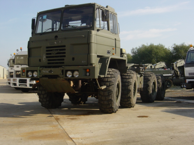 Foden 8x6 DROPS truck - ex military vehicles for sale, mod surplus