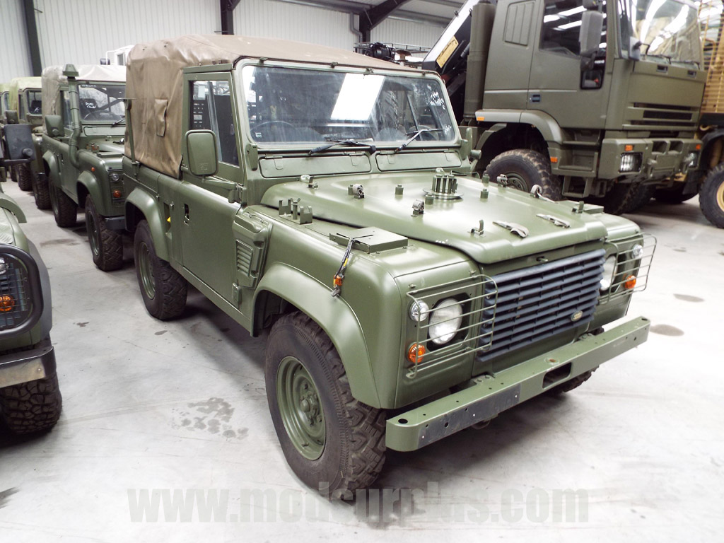 military vehicles for sale - Land Rover Defender 90 Wolf RHD Soft Top (Remus)