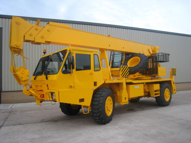 MoD Surplus, ex army military vehicles for sale - Grove 315M 4x4 all terrain 18 ton crane