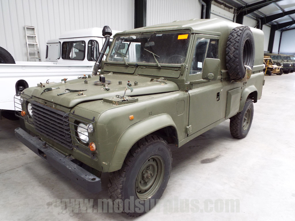MoD Surplus, ex army military vehicles for sale - Land Rover Defender 110 Wolf  RHD Hard Top (Remus)