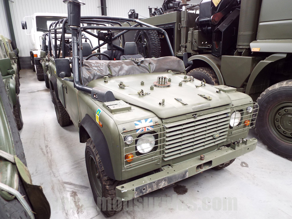 MoD Surplus, ex army military vehicles for sale - Land Rover Defender Wolf 110 Scout vehicle