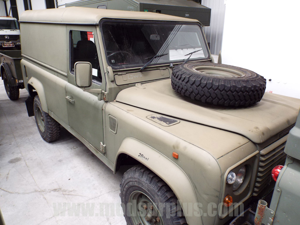 MoD Surplus, ex army military vehicles for sale - Land Rover Defender 110 300Tdi (Hard Top)