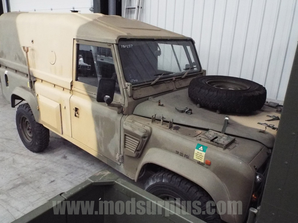 military vehicles for sale - Land Rover Defender 110 Wolf  RHD Hard Top (Remus)