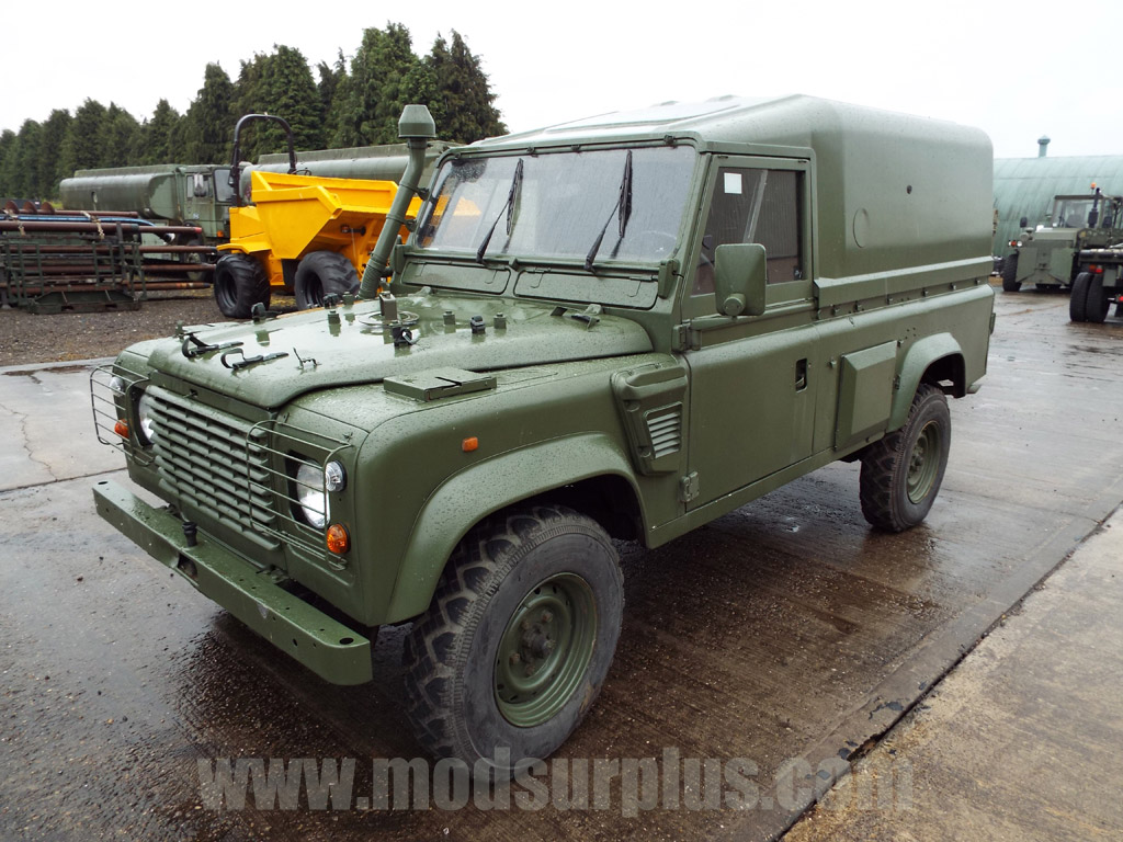 MoD Surplus, ex army military vehicles for sale - Land Rover Defender 110 Wolf  LHD Hard Top (Remus)