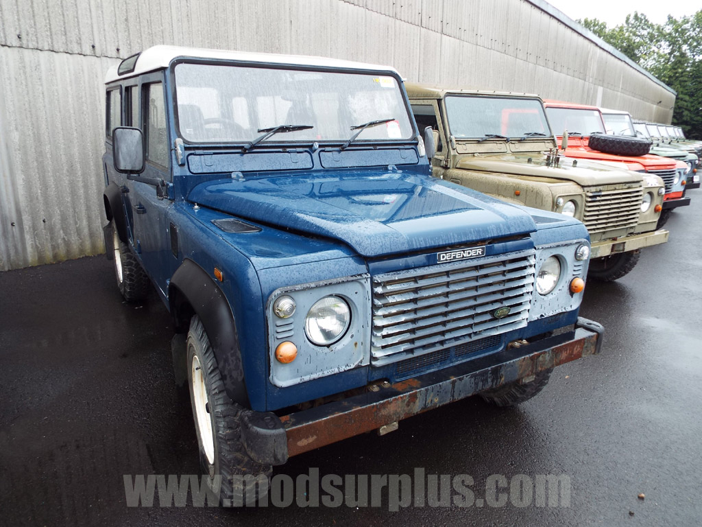 MoD Surplus, ex army military vehicles for sale - Land Rover Defender 110 RHD Station Wagon