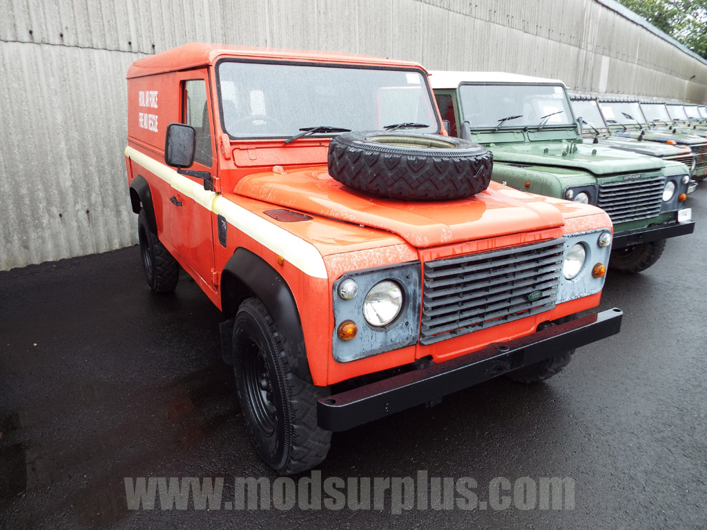 MoD Surplus, ex army military vehicles for sale - Land Rover Defender 110 2.5L NA Diesel (Hard Top)
