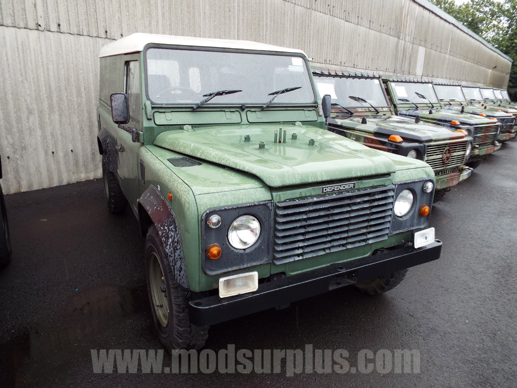 military vehicles for sale - Land Rover Defender 110 2.5L NA Diesel (Hard Top)