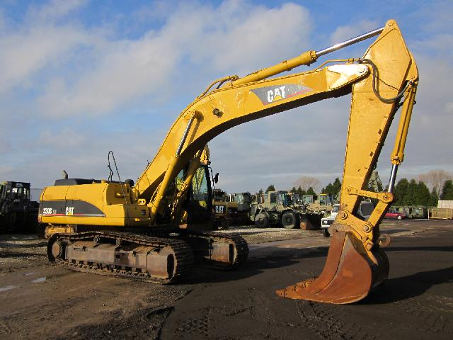 Caterpillar Tracked Excavator 330 CL - ex military vehicles for sale, mod surplus