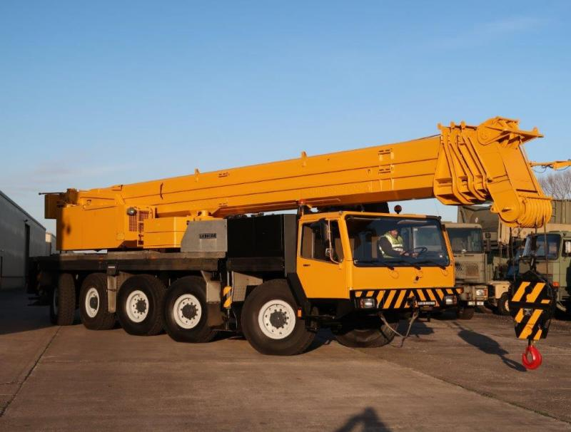 MoD Surplus, ex army military vehicles for sale - Liebherr LTM1120 crane