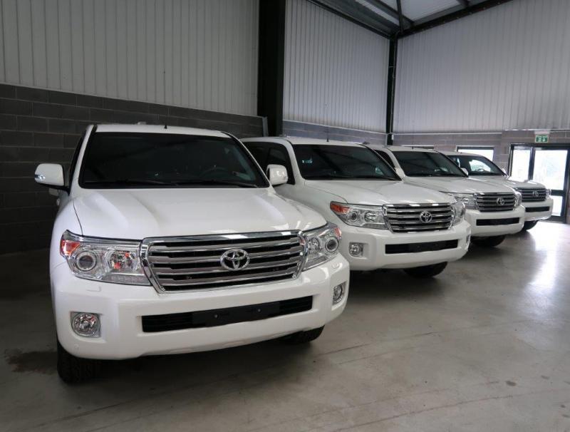 Armoured Toyota Land Cruiser (UNUSED) - ex military vehicles for sale, mod surplus