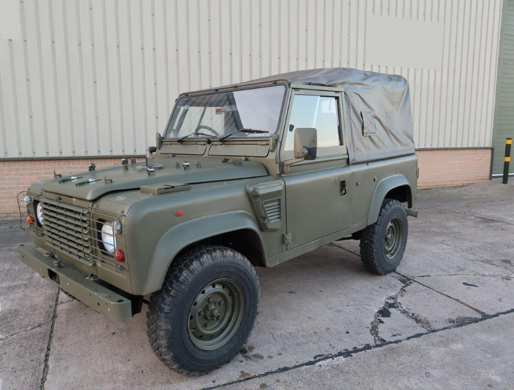 MoD Surplus, ex army military vehicles for sale - Land Rover Defender 90 RHD Wolf Soft Top (Remus)