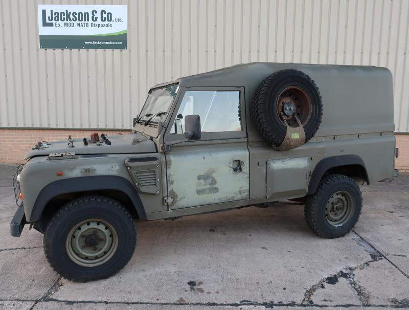 Land Rover Defender Wolf 110 RHD Hard Top (Remus) - ex military vehicles for sale, mod surplus
