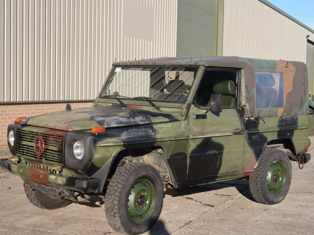 Mercedes Benz 250 G Wagon   - ex military vehicles for sale, mod surplus