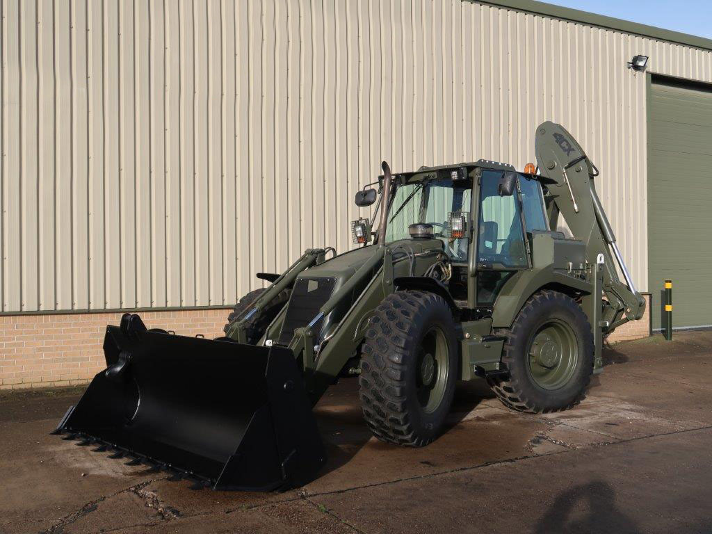 MoD Surplus, ex army military vehicles for sale - JCB 4cx backhoe loader