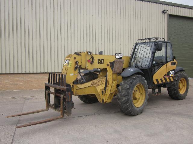 Caterpillar Telehandler TH355B - ex military vehicles for sale, mod surplus