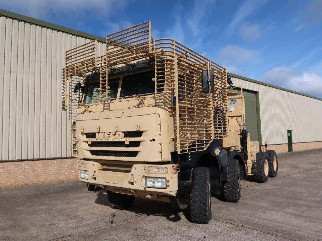 MoD Surplus, ex army military vehicles for sale - Iveco Trakker 8x8 with Armoured Cab