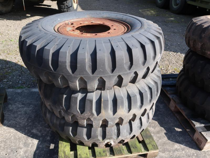 Goodyear 12.00-20 tyres (unused) - ex military vehicles for sale, mod surplus