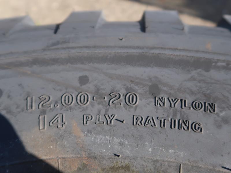 Goodyear 12.00-20 tyres (unused)