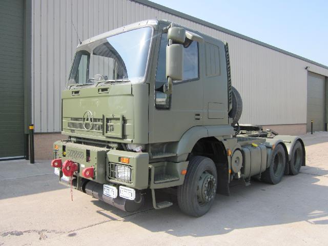 Seddon Atkinson 6x4 tractor unit - ex military vehicles for sale, mod surplus