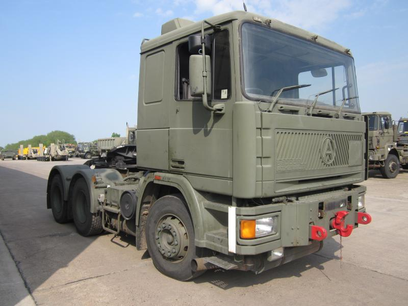 Seddon Atkinson 68 ton tractor unit - ex military vehicles for sale, mod surplus