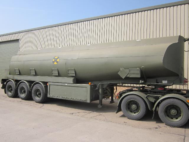 military vehicles for sale - Thompson 32,000ltr Bulk Fuel Tanker Trailer