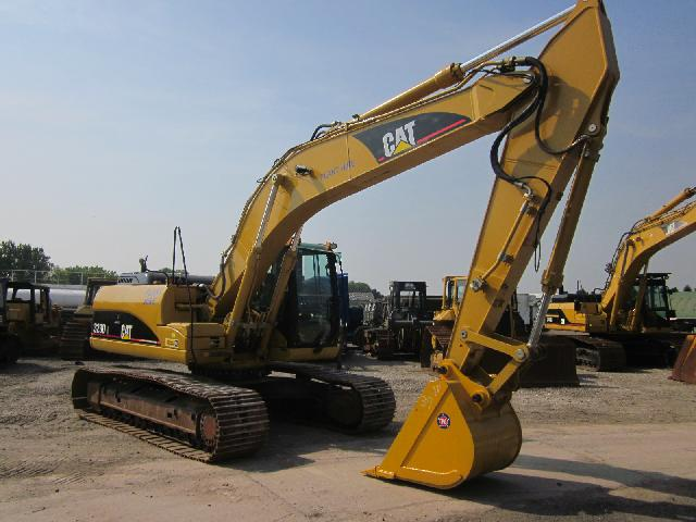 Caterpillar Tracked Excavator 323DL  - ex military vehicles for sale, mod surplus