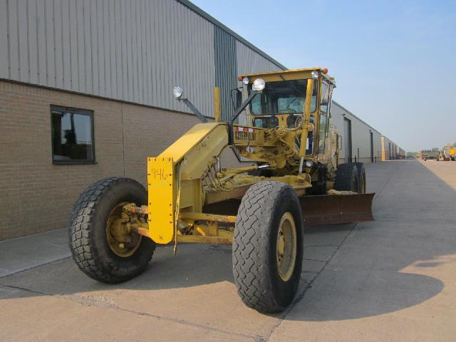 Caterpillar Grader 140G - ex military vehicles for sale, mod surplus