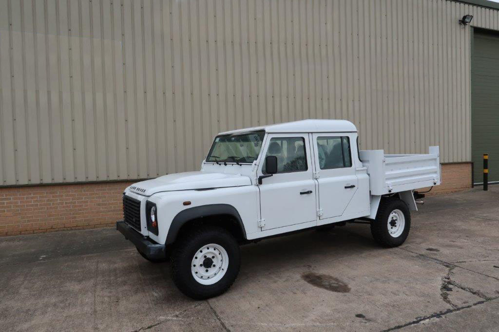 military vehicles for sale - Land Rover Defender 130 LHD Double Cab Pickup